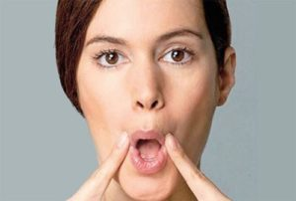 Упражнения от морщин над верхней губой